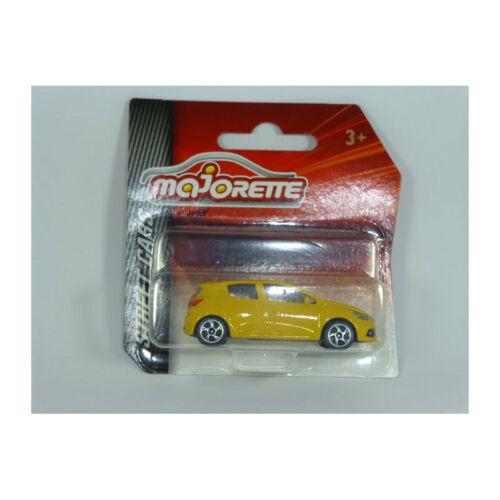 Street Cars Coche a Escala Majorette 212052791 Renault Clio Sport Amarillo