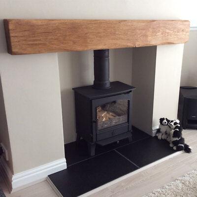 Large Size Oak Beam Mantelpiece Mantle Fireplace Wood