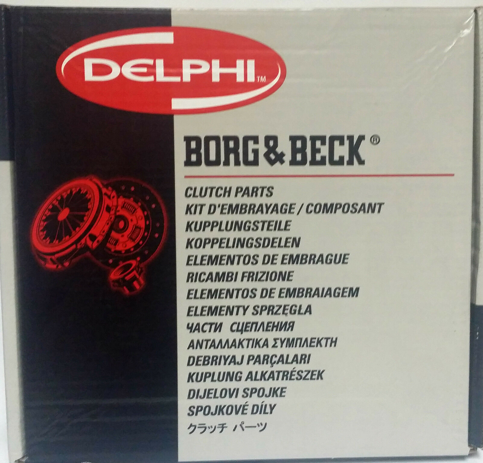 Borg /& Beck HK7625 Kit frizione