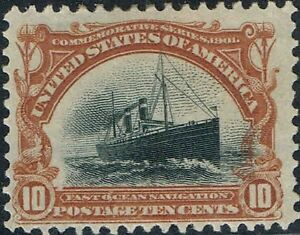 #299 10 CENT 1901 PAN-AM EXPO ISSUE MINT-OG/H