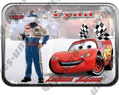 NAME FOTO Fotomontage ★ Cars Bügelbild NEU GROSS 29x21 cm XXL Geschenkidee