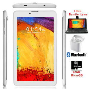 """Factory UNLOCKED! 7"""" Tablet PC/Phone 2-in-1 4G LTE Phone - FREE ACCESSORY BUNDLE"""