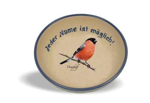 image Bol à céréales avec nom tournées oiseaux//Céramique//Salade Bol//compote