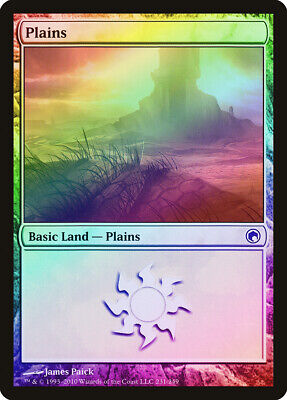 Goedkope Verkoop Plains (231) Foil Scars Of Mirrodin Heavily Pld Basic Land Magic Card Abugames Grote Uitverkoop