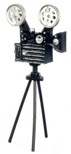 1//12 Scale Dollhouse Miniature Antique Movie Video Camera w// detached tripod