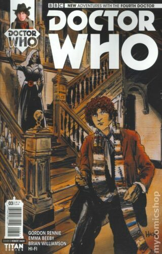 Doctor Who the Fourth Doctor #3D FN 2016 Stock Image