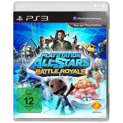 Sony PS3 Playstation 3 Spiel * Playstation All-Stars: Battle Royal ******NEU*NEW