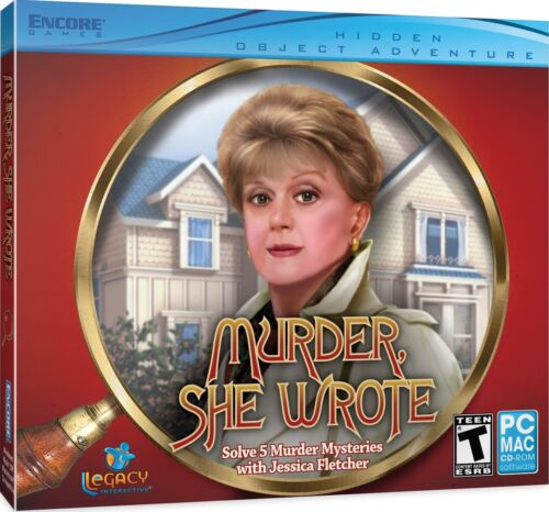 New Murder She Wrote PC Hidden Object Game