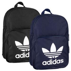 Adidas-BP-Classic-Trefoil-Rucksack-Backpack-Sport-Freizeit-Schule-Tasche-Ranzen