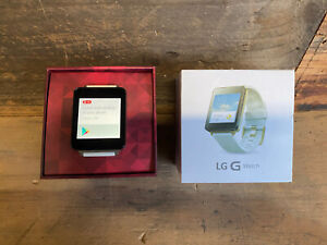 LG G Watch 38mm Stainless Steel Case White Gold - Pre-owned (LG-W100)