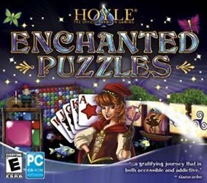 HOYLE-ENCHANTED-PUZZLES-200-Levels-with-9-different-game-types-XP-Vista-7-8