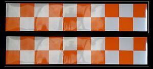 Magnetic-Reflective-Battenberg-Side-Reflectors-1200mm-orange-white