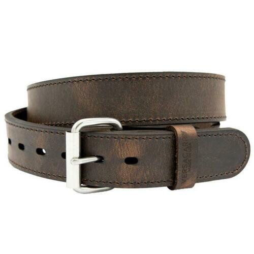 Distressed Brown VersaCarry Double Ply Leather Belts 32
