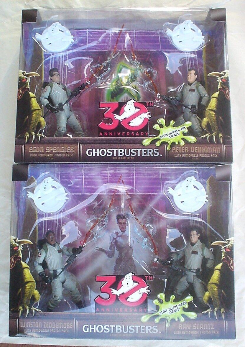 GHOSTBUSTERS 30th Anniversary VENKMAN SPENGLER STANTZ ZEDDEMORE Mattel 2014 NEW