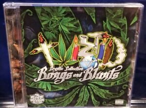 Twiztid-Cryptic-Collection-Blunts-and-Bongs-CD-rare-insane-clown-posse-blaze