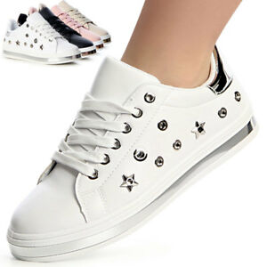 Trainers-Leisure-Metallic-Studs