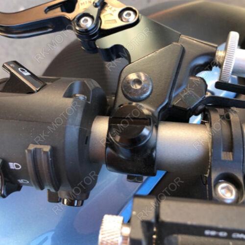 MirrorHolePlug For Kawasaki Z900 2017-2018 Z1000 2014-2018 Z900RS 2018 Black