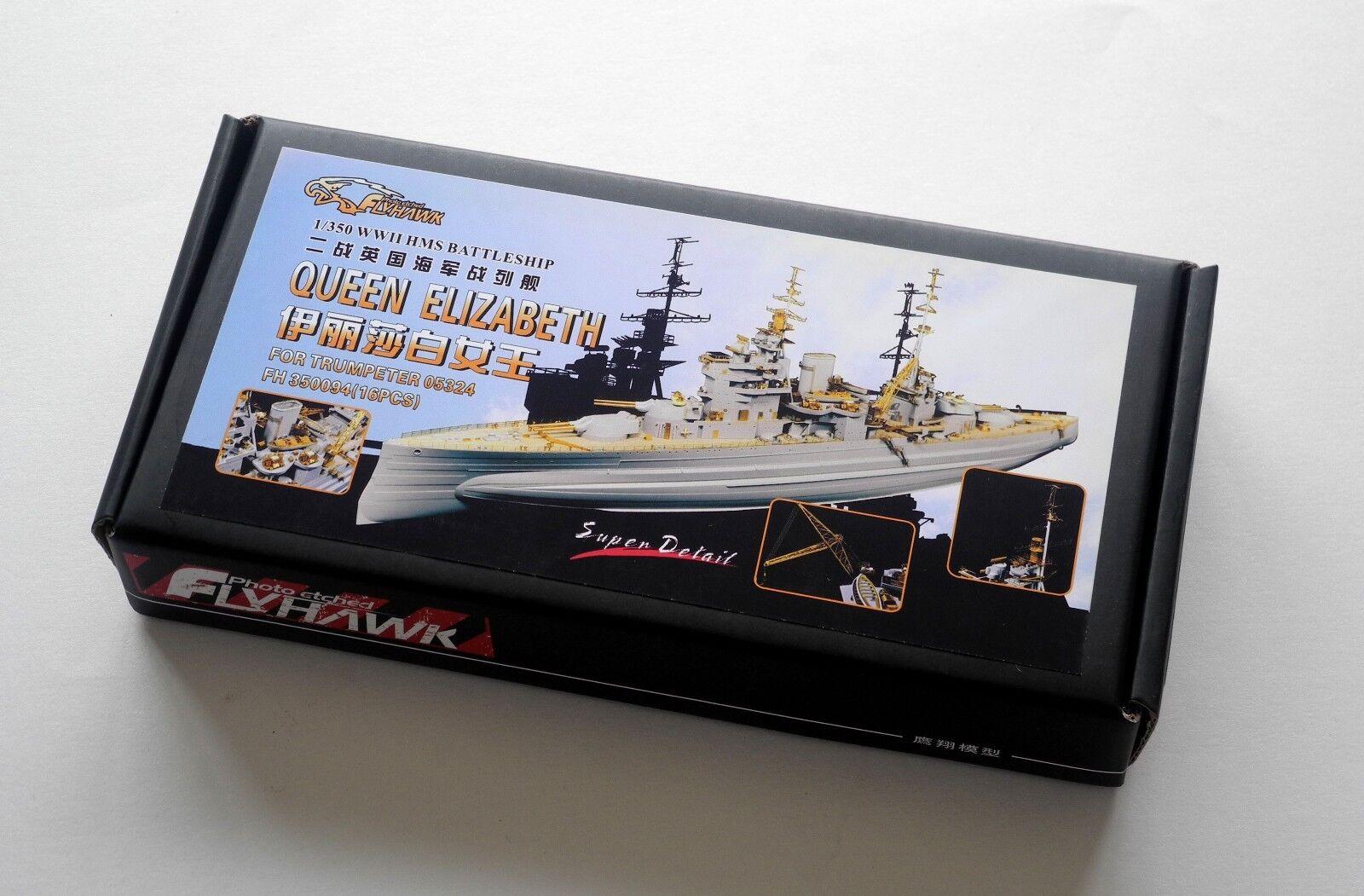 Flyhawk FH350094 1/350 HMS Queen Elizabeth para Trumpeter