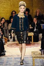 NWT CHANEL 5.3K 11A PARIS-BYZANCE Jeweled Cashmere Cardigan Jacket, FR 38/40/42