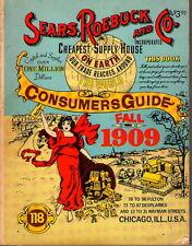 Sears, Roebuck & Co., 1909 Catallog SC 1979