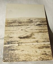 1919 Real Photo TRENCH LINE DEATH VALLEY World War I Photos Franco American Art