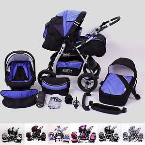 Kombikinderwagen-Kinderwagen-VIP-mit-Babyschale-Lieferbar-in-48-Farben
