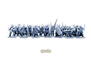 Dark Crussader, Chaos Warrior - Heroquest, D&D, Warhammer, Mordheim - Minis3D