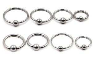 6mm-19mm-Large-Captive-Bead-Ring-Earring-Circular-Bar-CBR-Nipple-Septum-Hoop