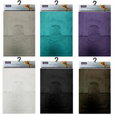 2 Piece Luxury Touch Rug Mat Non Slip Washable Bathroom Set