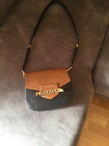 Details zu Michael Kors Tasche schwarz braun klein