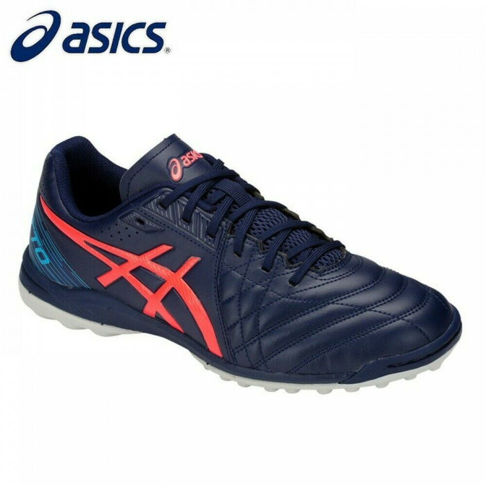 ASICS Japan Futsal shoes CALCETTO WD 8 TF WIDE 1113A008 PEACOAT FLASH CORAL