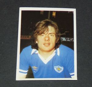 #133 MELROSE LEICESTER CITY FOXES DAILY STAR FOOTBALL ENGLAND 1980-1981 PANINI M7lilx1h-09095824-956932618