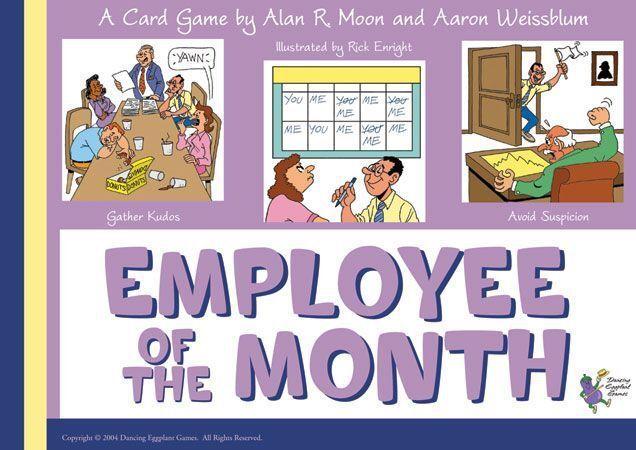 Jeu de société Employee of the Month - En anglais - Neuf, encore emballé -