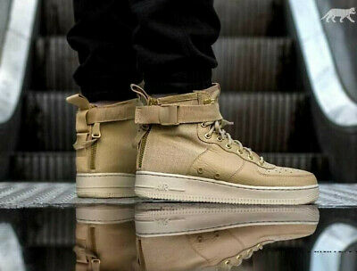 NIKE SF AF1 MID Trainers Casual Fashion Air Force One Various Sizes Mushroom | eBay