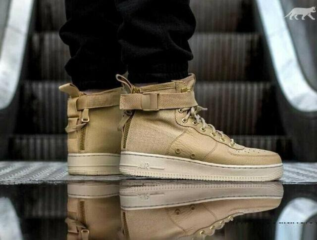 Scarpe e sneaker da uomo Nike SF Air Force 1 Mid Mushroom