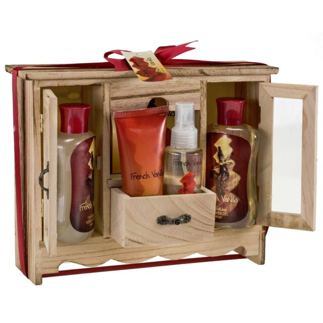 French Vanilla Spa Bath Gift Set