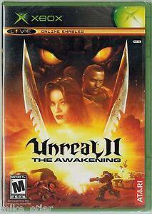 Unreal-II-The-Awakening-Xbox-2004-Factory-Sealed