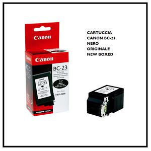 Cartuccia-CANON-BC-23-NERO-Black-ORIGINALE-Inkjet-for-BJC-5000-Cartridge-NEW-BOX