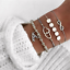 Fashion-Women-Jewelry-Set-Rope-Natural-Stone-Crystal-Chain-Alloy-Bracelets-Gift thumbnail 88