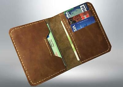 Fashion Men/'s Leather Wallet Credit//ID Card Holder Slim Coin Purse Pocket Gifts
