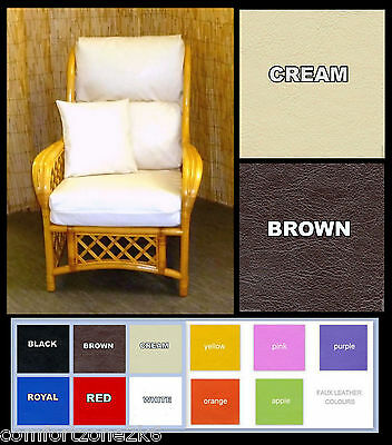 Replacement Cushion Covers Cane Rattan, Rattan Furniture Cushion Covers
