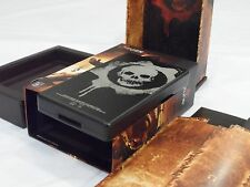 Microsoft Zune 120GB Gears of War, New HDD, New Batt, Excellent, Complete, As-Is