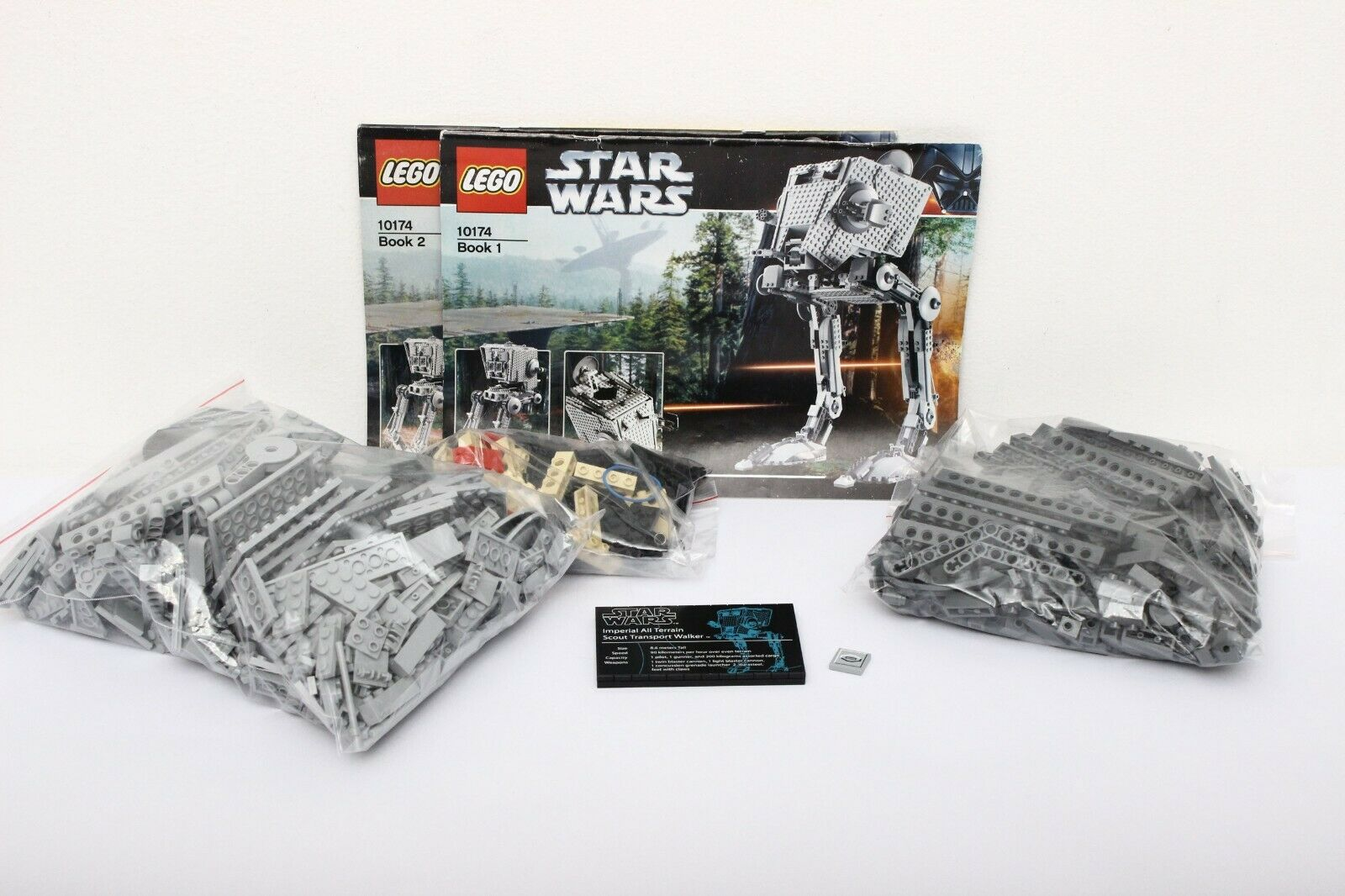 Lego Star Wars Ultimate Collector Series Set 10174-1 Imperial AT-ST - 100% cmpl.
