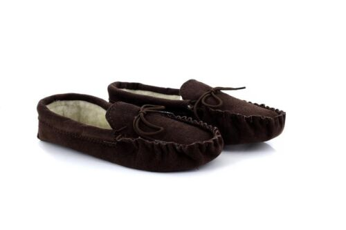 Mokkers JAKE MS161 Leather Full Moccasin Made In England Slippers