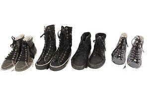 Vintage-All-Stars-Converse-Vans-Boots-Shoes-Job-Lot-Wholesale-x10-Pairs-Lot491