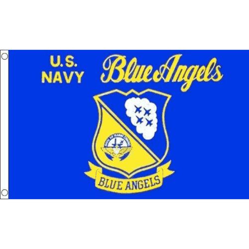 USA United States Of America Blue Angels Flag 5 x 3 FT