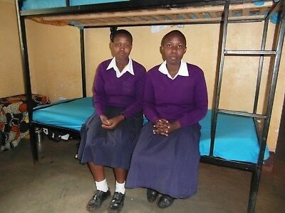 Support a girl/'s education by giving her a safe bed for the night near school