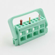 1pc Dental Autoclavable Endo Hand Engine Files Dispenser Organizer Holder Green