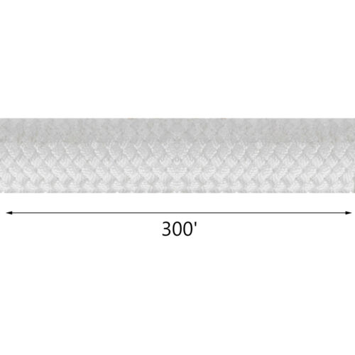 """8400lbs Breaking Strength 3//8/"""" Double Braid Polyester Rope 300FT"""