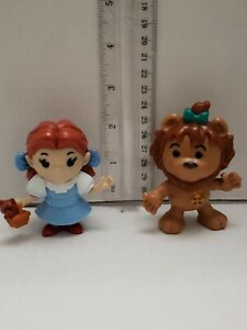 McDonald-039-s-2013-Wizard-of-Oz-Dorothy-amp-Lion-3-034-Figure-Lot-of-2-Fast-Shipping